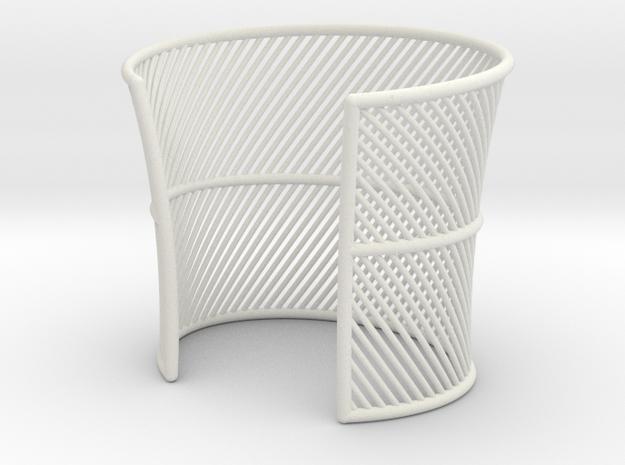 Wired cuff - Medium Size 3d printed