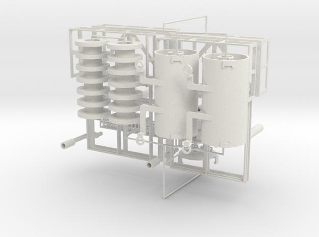 Negative ion generator PCB base and HV transformer in White Natural Versatile Plastic