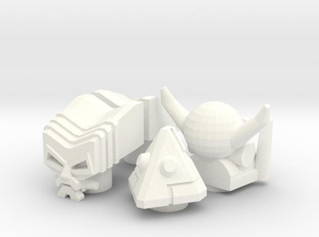 4 Robo Heads (4.9mm port)