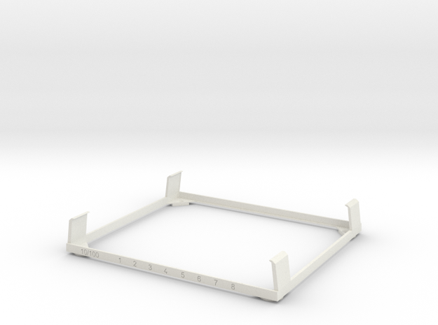 TOUGH Switch Wall Mount in White Natural Versatile Plastic