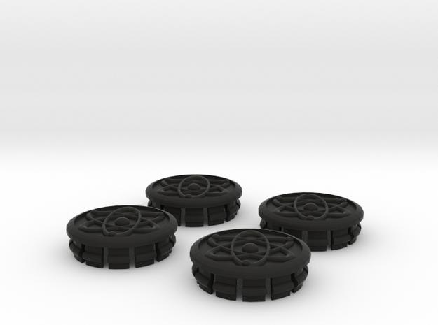 Toyota Prius G3 Wheel Center Caps - Lithium Atom 3d printed