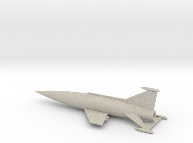 Spaceark (scale 1:1000) 3d printed