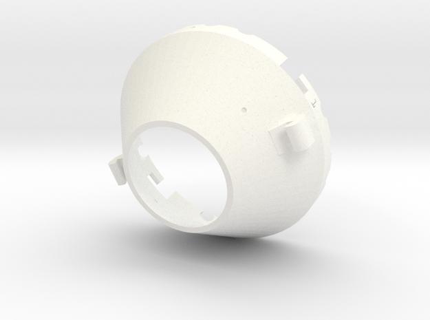 Locking drive cone in White Processed Versatile Plastic