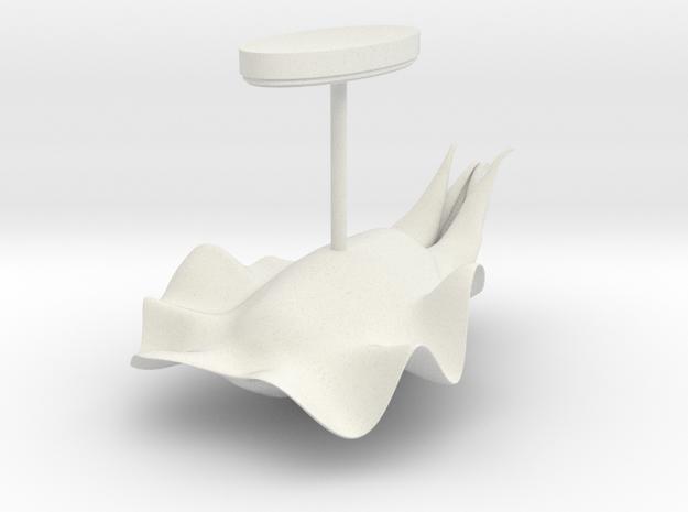 Cuttlefish 5.4cm w/base 3d printed