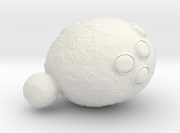 Old Mother Yeast (SWF) in White Natural Versatile Plastic
