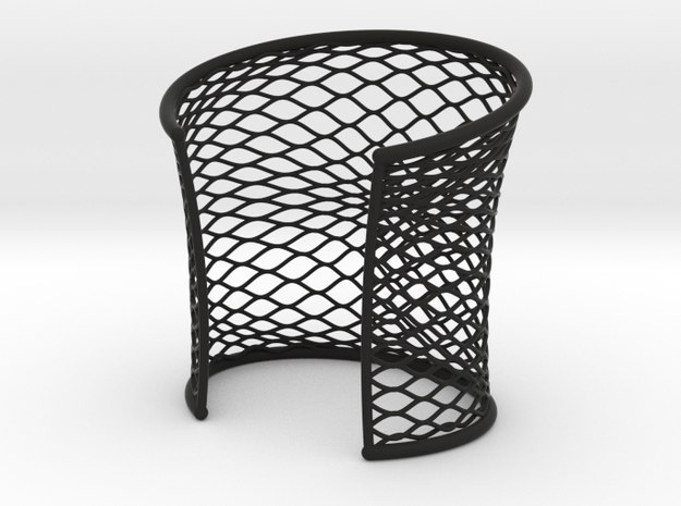 Woven Cuff - Large 3d printed