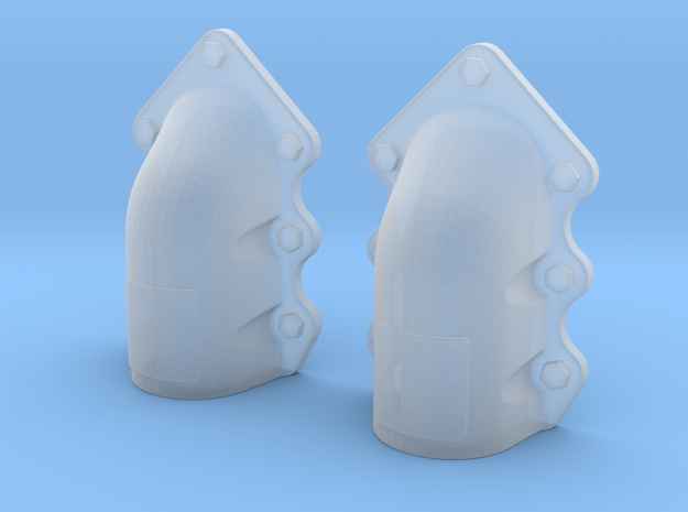 1:16 T-34 scallopped exhaust covers