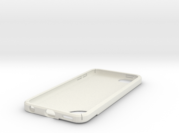 IPod Touch 5 Case in White Natural Versatile Plastic