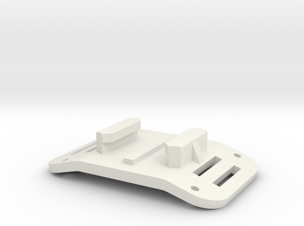 GoPro Mount Airplane Fuse in White Strong & Flexible