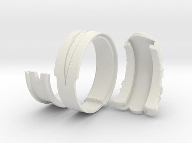 Vambrace Ring 9 3d printed
