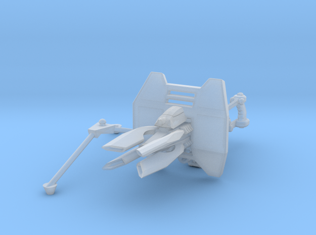 Advanced Lightning Cannon 001a (pintle) 3d printed