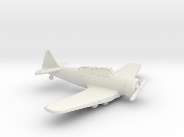 1:144 T6 TEXAN MG PODS  in White Natural Versatile Plastic