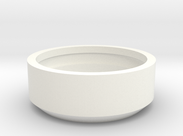 Lux Energy Demonstration Filter Ring in White Processed Versatile Plastic
