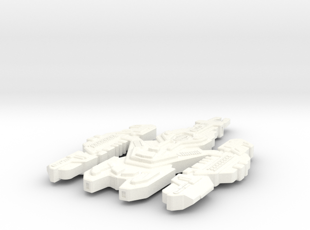 Kearnon Class Cardassian Ship (Larger) 3d printed