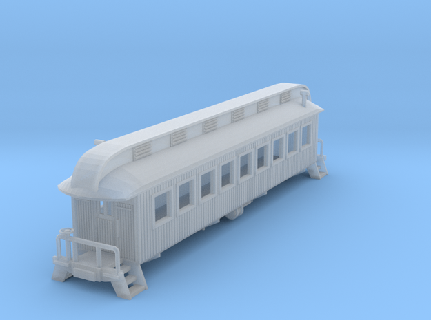 Diner Car in Smooth Fine Detail Plastic