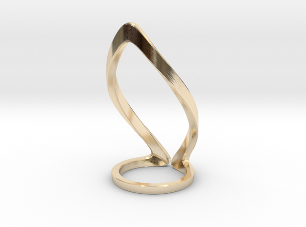 Circangle in 14K Gold