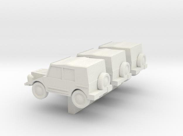 1/200 DKW Munga in White Natural Versatile Plastic