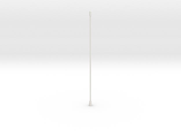 Tail Antenna in White Natural Versatile Plastic