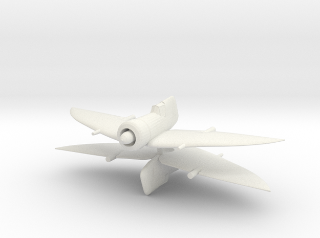 1/200 BICh-17 (x2) in White Natural Versatile Plastic