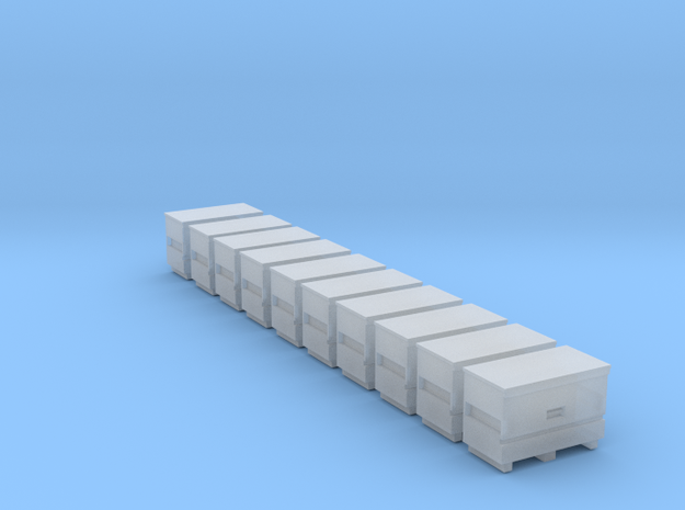 10 N Scale Knack Toolboxes FUD Only in Smooth Fine Detail Plastic