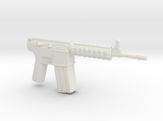 M4A1 RIS Actual Size 3d printed