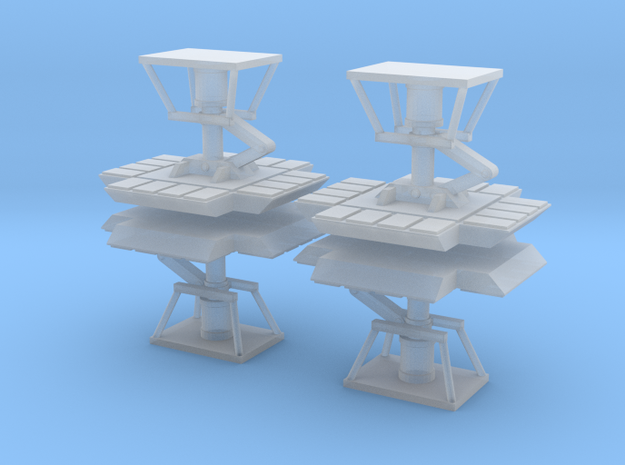 """Moongear set of four for 12"""" Eagle Kit! in Smooth Fine Detail Plastic"""