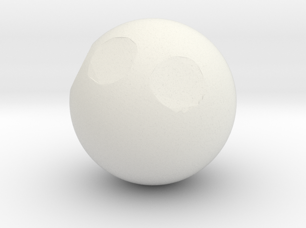Sphere1 in White Strong & Flexible