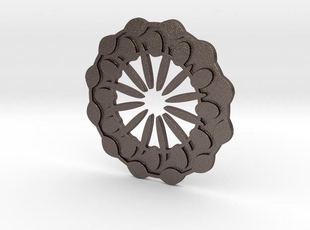 Flower in Stainless Steel