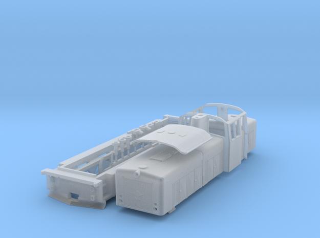 ZB (H0e) - O&K Diesellok MD18s D8/9 (neu) in Smooth Fine Detail Plastic