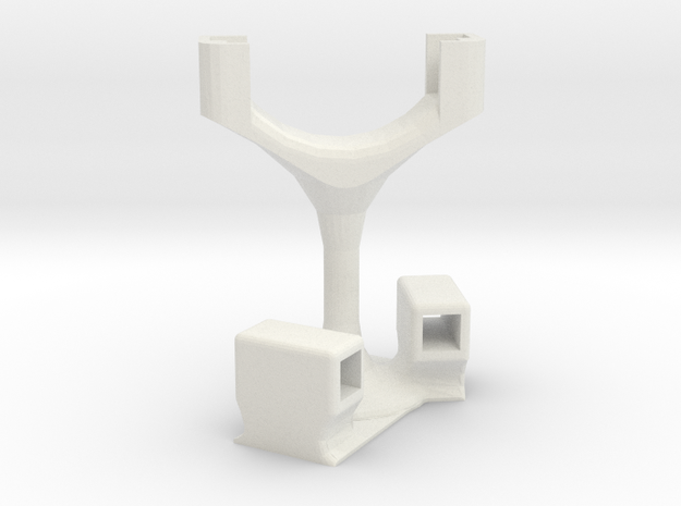 Logitech Holder in White Natural Versatile Plastic