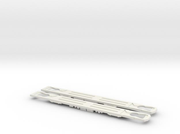 Plan V, v1 chassis in White Natural Versatile Plastic