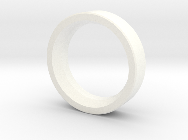 Fiberspar Extension Ring in White Strong & Flexible Polished