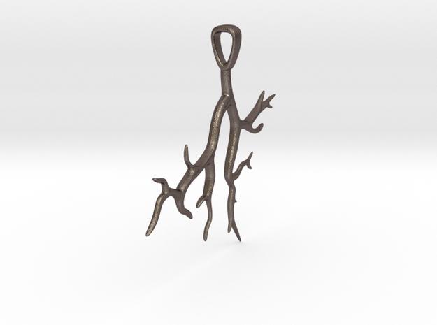 Tree Branch Pendant Type 2 3d printed