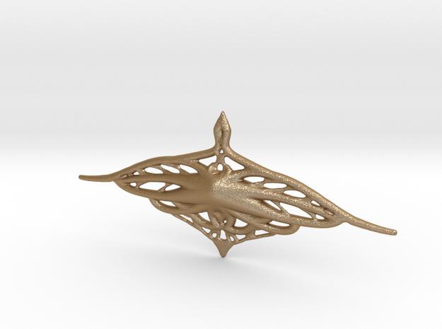 Organia - Breast Pendant 3d printed