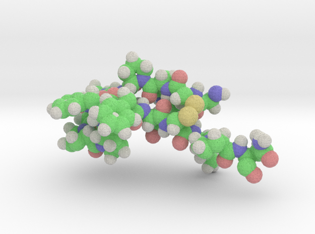PDP11 Peptide in Full Color Sandstone