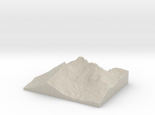 Model of Crook Glacier 3d printed