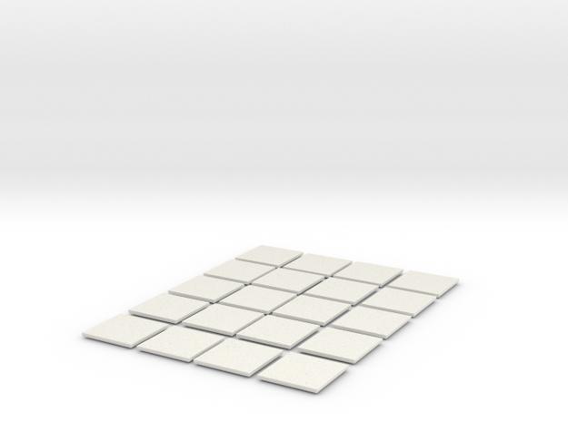 Mesh Tile Starter Pack in White Strong & Flexible