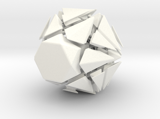 Fracture-12 Puzzle 3d printed