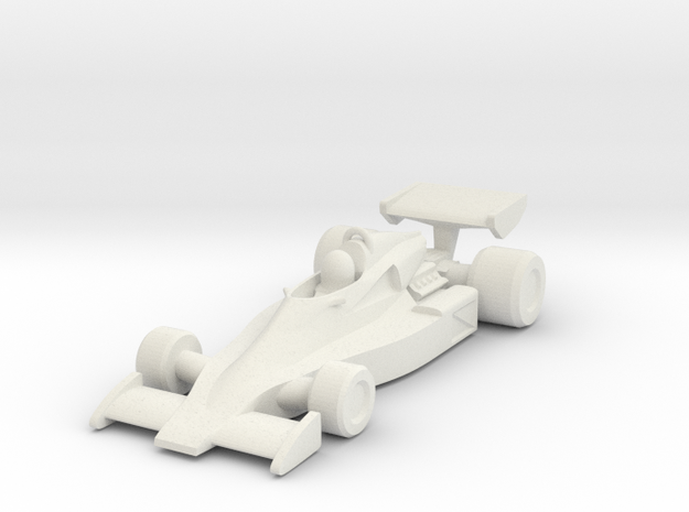Penske PC4 HO scale 3d printed
