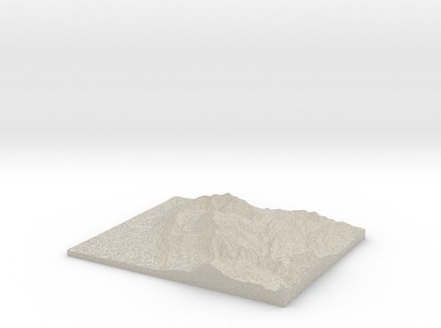 Model of Provo in Natural Sandstone