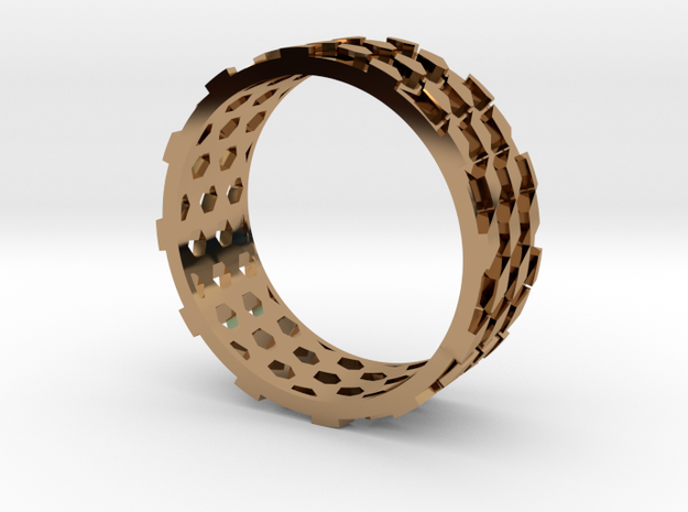 Parquet Deformation Ring (59mm) 3d printed