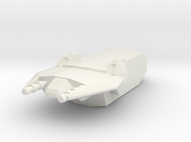 1/1000 Scale Narnian Civilian Transport 3d printed