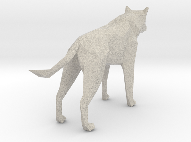 Fear of the Unknown - Wolf 3d printed