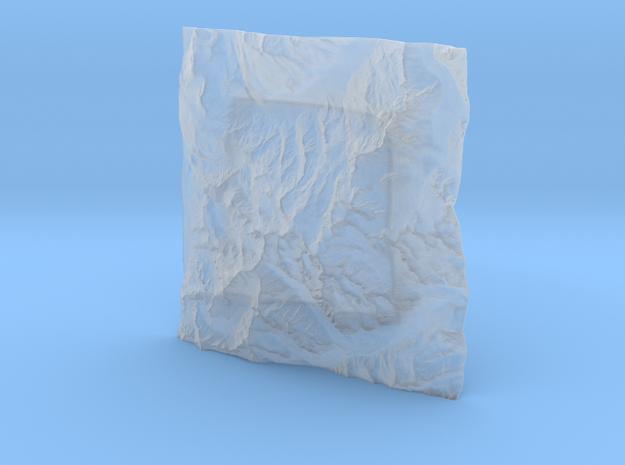 6''/15cm Mt. Blanc, France/Italy 3d printed