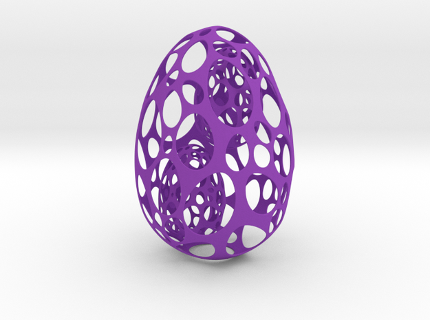 Easter egg Twins 3d printed