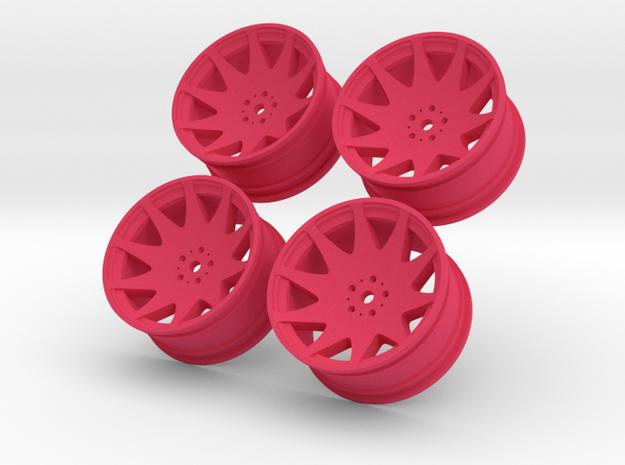 1/10 Touring Car MRR HR3 Wheel Set  3d printed