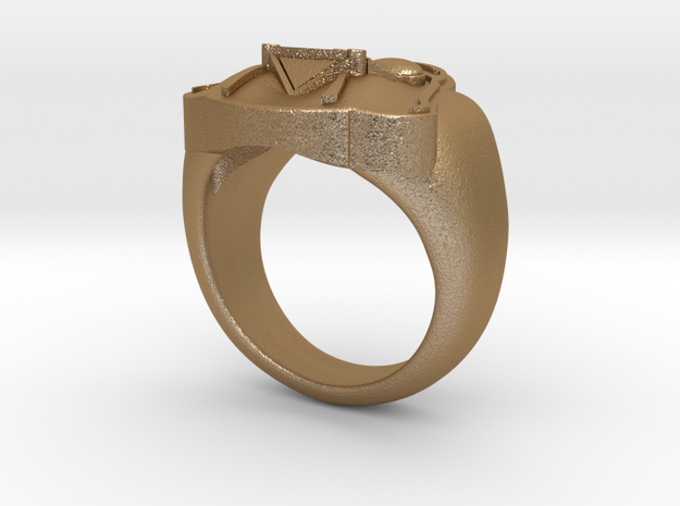Vader ring - 16mm 3d printed