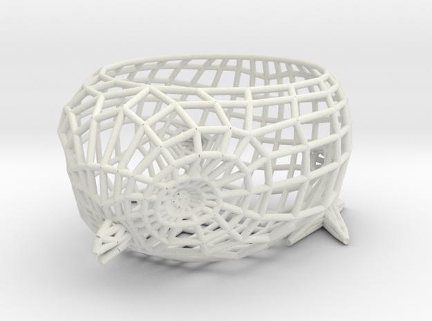 Twitter Bird Egg Holder in White Natural Versatile Plastic