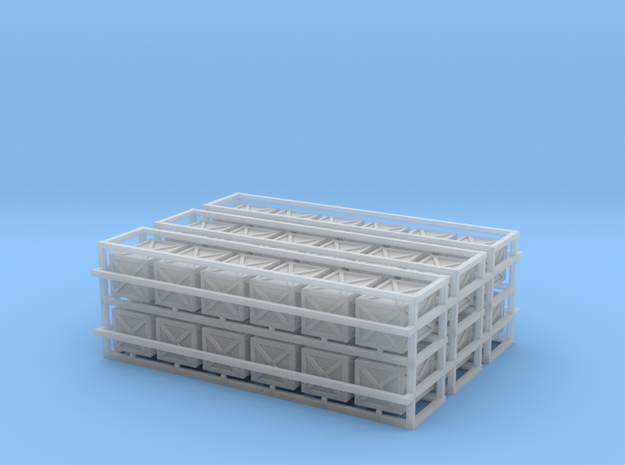 Wooden Crates 36 in Smooth Fine Detail Plastic