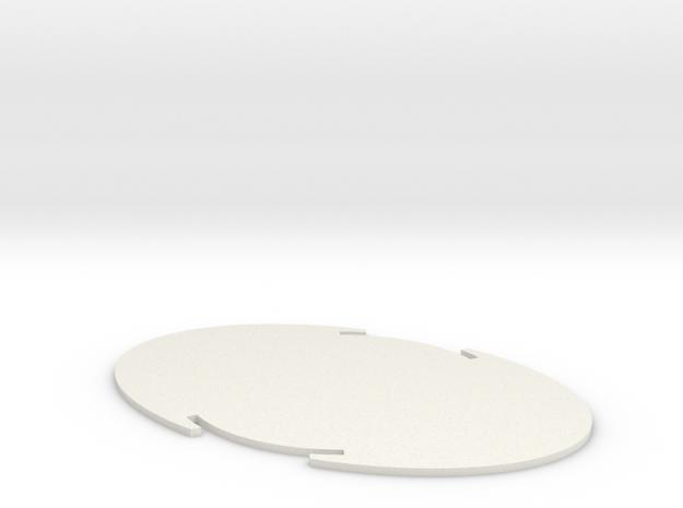 Rearbp in White Natural Versatile Plastic